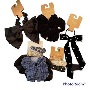 NWT Nordstrom Berry hair accessories bundle 5